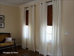 interiors blinds with sheer curtains ikea velour curtains bamboo
