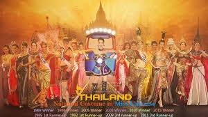 miss universe thailand national costume youtube