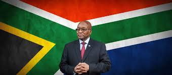 The New South African Flag The Heat Jacob Zuma U0027s Future In South Africa Cgtn America