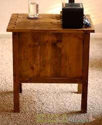 Wood End Table Plans Free by Ana White