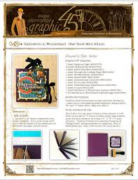 Graphic 45 Halloween In Wonderland by Project Sheets