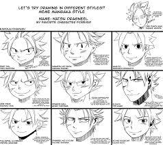 meme mangaka styles by karola2712 on deviantart