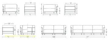 taille canapé dimensions lit 2 places dimension canape 2 places 933 x 348