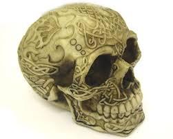 Celtic Skull - celtic skull statue skull statue gifts human skull