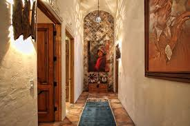 spanish hacienda hall southwestern with old spanish style iron