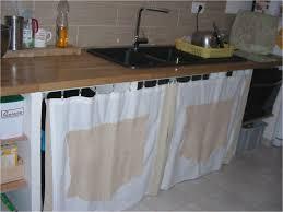 changer evier cuisine rideau sous evier cuisine charmant changer porte cuisine avec rideau