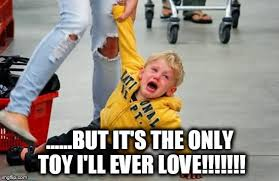 Toys Meme - image tagged in screaming kid toys imgflip