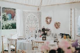 herbs u0026 flowers home made walled garden wedding whimsical