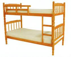 agreta double deck wooden bed frame u2013 luxure furniture