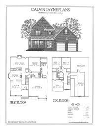 Two Floor House Plans by Calvin Jayne Plans Two Story 2928 3490 Sq Ft