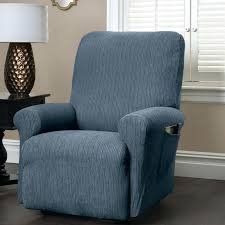 sure fit reclining sofa slipcover recliner full image for stretch sofa slipcovers recliner