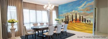 Dining Room Murals Wall Murals For Dinging Rooms - Dining room mural
