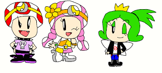 Coloriage Capitaine toad Hi Hi Captain toad and toadette by