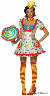 Candy Apple Halloween Costumes Tootsie Clown Costume Candy Apple Costumes