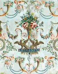 antique toile wallpaper the french seemed to master hand blocked