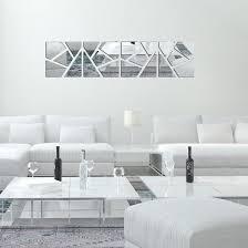 fashion drop shipping 4pcs a set diy 3d acrylic mirror decal