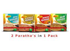 amazon com great bazaar vijaya buy ready to eat paratha rusks soan papdi namkeen rasgulla and
