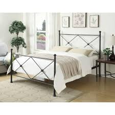 pri all in 1 black queen bed frame ds 2643 290 the home depot