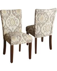 Parson Dining Chair Bargains On Homepop Suri Parson Dining Chair Set Of 2