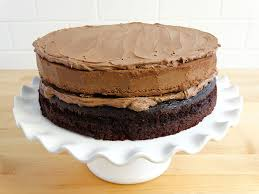 chocolate nutella cheesecake cake wicked good kitchen
