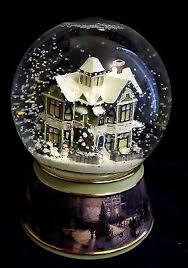 light up snow globe thomas kinkade light up musical snow globe victorian merry little