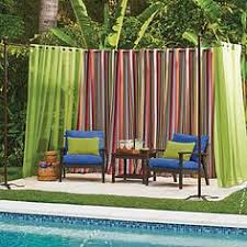 Free Standing Drapes Inspiration Transforming An Outdoor Space With Free Standing Diy