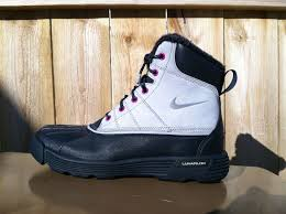 womens boots nike womens nike acg lunarstorm watershield boots winter hiking