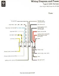 vintagebus com vw bus and other wiring diagrams usa en y wiring