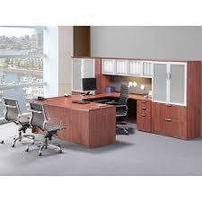 U Office Desk Executive Bow Front U Unit
