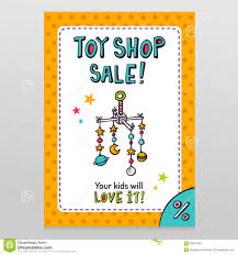 White Baby Cribs On Sale by Toy Shop Vector Sale Flyer Design With Baby Crib Mobile Stock