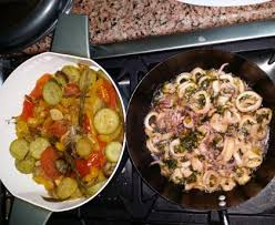 cuisiner les calamars calamars à l ail et au persil recette de calamars à l ail et au