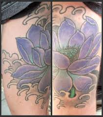 tattoosday a tattoo blog two for tattoosday a purple lotus and