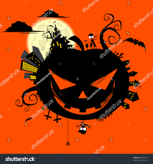 halloween graphic art creepy halloween world stock vector 59972419 shutterstock