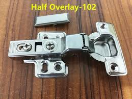 cabinet door soft close 102 half overlay stainless steel hinges hydraulic der buffer