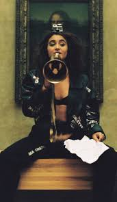 performance artist who exposed herself in front of the u201cmona lisa