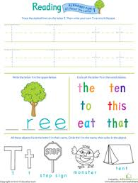get ready for reading all about the letter t worksheet