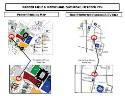 Permit Parking Chicago Map by University Of Kentucky Official Athletic Site
