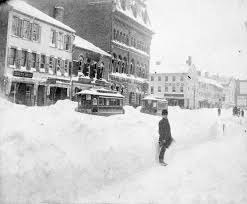 blizzard of 1888 disasters in the valley