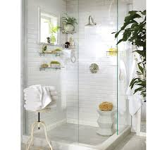 Pottery Barn Bathroom Ideas Walk In Shower Ideas Traditional Bathroom