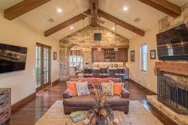 Exposed Beam Ceiling Living Room by Photos Jenkins Custom Homes Hgtv