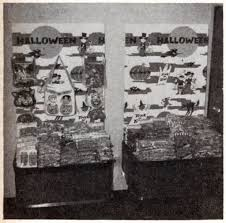 a peek into halloween u0027s past store displays from 1969