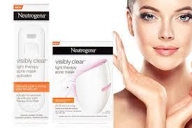 neutrogena light mask activator neutrogena light therapy acne mask activator 30 days