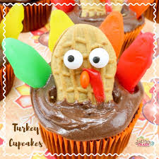 thanksgiving turkey cupcakes recipe just plum