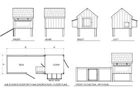 Small Backyard Chicken Coop Plans Free by Easy Chicken Coop Floor Plans With Simple Portable Chicken Coop