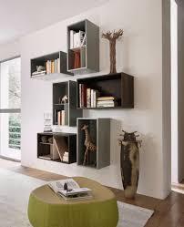 Esszimmer M El Gruber Bucherregale Aus Holz Privatausstellung Wohnzimmerwand Design