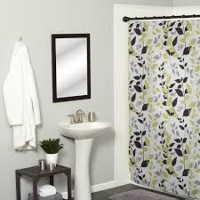 Botanical Shower Curtains Modern Botanical Multicolor Fabric Shower Curtain Free Shipping