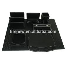 Office Desk Sets Office Desk Leather Stationery Set Wholesale Stationery Set