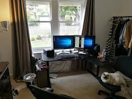 Programmer Desk Setup Ultrawide 34
