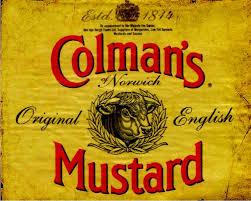 coleman s mustard colmans mustard metal advertising wall sign retro