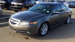 pre owned grey on black 2007 acura tl 4dr sdn at navigation review